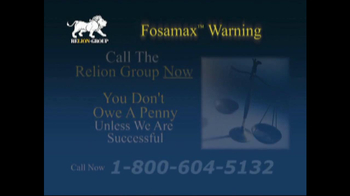 Relion Group TV Spot For Fosamax - Thumbnail 8