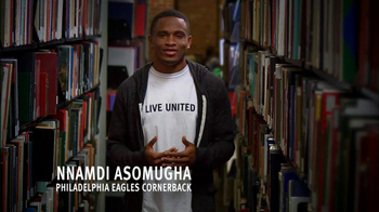 United Way TV Spot Featuring Nnamdi Asomugha