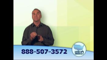 Listen Up America TV Spot, 'Life Insurance Policies' - Thumbnail 6