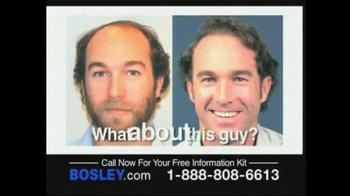 Bosley TV Spot For Permanent Solution - Thumbnail 2