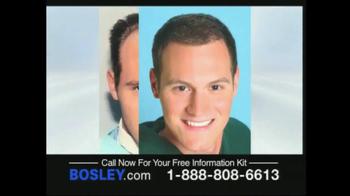 Bosley TV Spot For Permanent Solution - Thumbnail 3