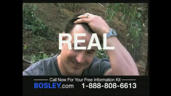 Bosley TV Spot For Permanent Solution - Thumbnail 5