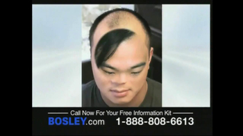 Bosley TV Spot For Permanent Solution - Thumbnail 6