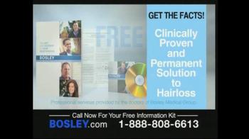 Bosley TV Spot For Permanent Solution - Thumbnail 8