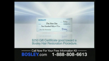 Bosley TV Spot For Permanent Solution - Thumbnail 9