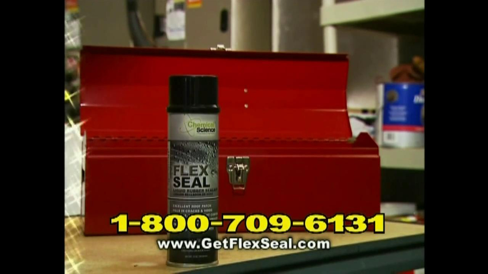 Flex Seal TV Commercial, 'For The Toughest Leaks' - Video