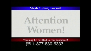 Lee Murphy Law TV Spot for Mesh Or Sling  - Thumbnail 1