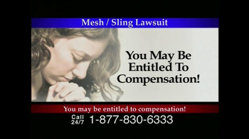 Lee Murphy Law TV Spot for Mesh Or Sling  - Thumbnail 4
