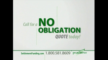 Peachtree Financial TV Spot for Settlement Funding - Thumbnail 8