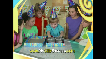 Silly Slippeez TV Spot for Slippers That Pop To Life - Thumbnail 7