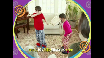 Silly Slippeez TV Spot for Slippers That Pop To Life - Thumbnail 9