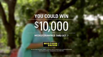 Western Union TV Spot for What It Feels Like - Thumbnail 5