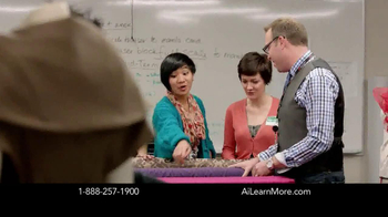 The Art Institutes TV Spot for Display Case Mannequins - Thumbnail 7
