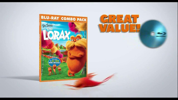 The Lorax Blu-ray Combo Pack TV Spot