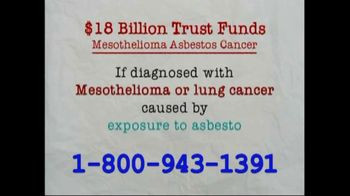 AkinMears TV Spot,  'Mesothelioma or Lung Cancer' - Thumbnail 1