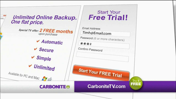 Carbonite TV Spot For Saving Your Files - Thumbnail 9