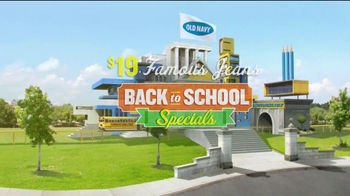 Old Navy TV Spot For Back To School Special Featuring Jennie Garth - Thumbnail 1