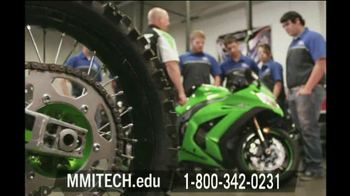Motorcycle Mechanics Institute TV Spot Classes - Thumbnail 4