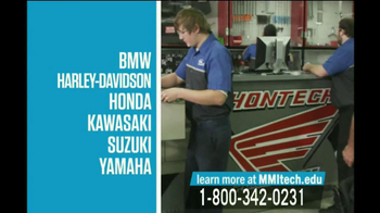 Motorcycle Mechanics Institute TV Spot Classes - Thumbnail 8