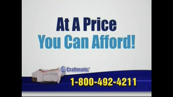Craftmatic TV Spot For Adjustable Beds Free Informational DVD - Thumbnail 7