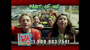 Kidz Bop 22 TV Spot, 'Wild Ride' - Thumbnail 5