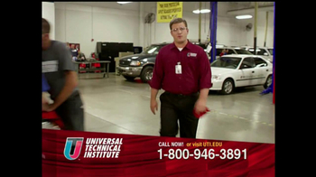 Universal Technical Institute (UTI) TV Spot For Guys Like You - Thumbnail 2