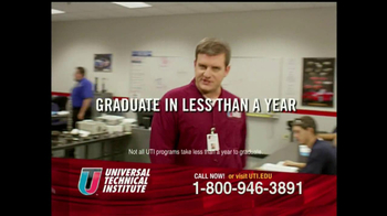Universal Technical Institute (UTI) TV Spot For Guys Like You - Thumbnail 5