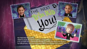 Trix Yogurt TV Spot, 'Next Trix Kid Contest' - 123 commercial airings