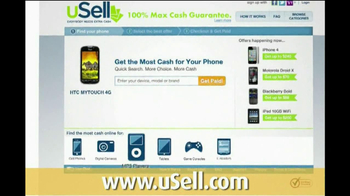 uSell.com TV Spot For Sell Your Old Electronics