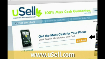 uSell.com TV Spot For Sell Your Old Electronics - Thumbnail 2