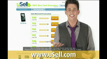 uSell.com TV Spot For Sell Your Old Electronics - Thumbnail 4