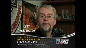 Universal Technical Institute TV Spot For Technicians - Thumbnail 4