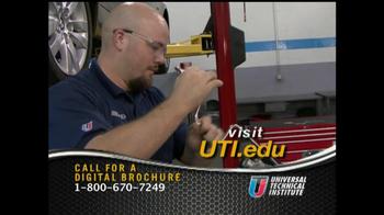 Universal Technical Institute TV Spot For Technicians - Thumbnail 5
