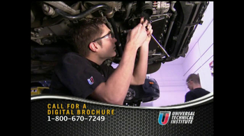 Universal Technical Institute TV Spot For Technicians