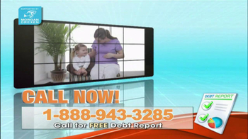 Free Debt Report TV Spot For Legal Service Catalog - Thumbnail 4