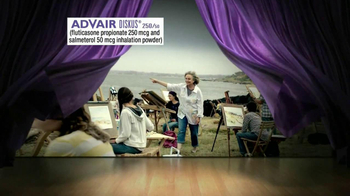Advair TV Spot, 'Painting' - Thumbnail 2