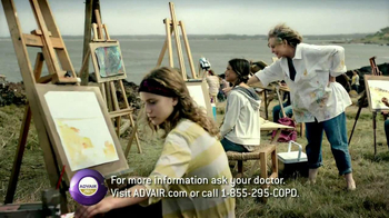 Advair TV Spot, 'Painting'