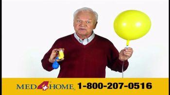 Med 4 Home TV Spot For Portable Nebulizer