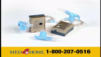 Med 4 Home TV Spot For Portable Nebulizer - Thumbnail 5