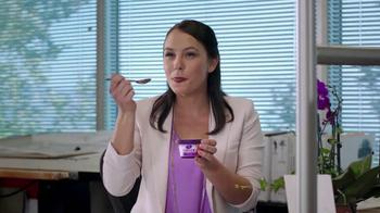 Dannon Light & Fit Greek Yogurt TV Spot, 'Megaphone' - Thumbnail 1