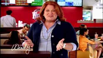 Wendy's TV Spot For Square Hamburgers