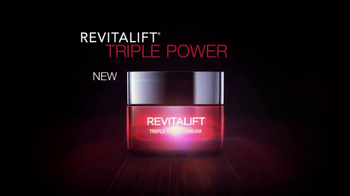 L'Oreal  Revitalift Triple Power TV Spot Featuring Andie MacDowell - 1620 commercial airings