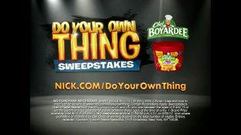 Chef Boyardee TV Spot For Do Your Thing Sweepstakes