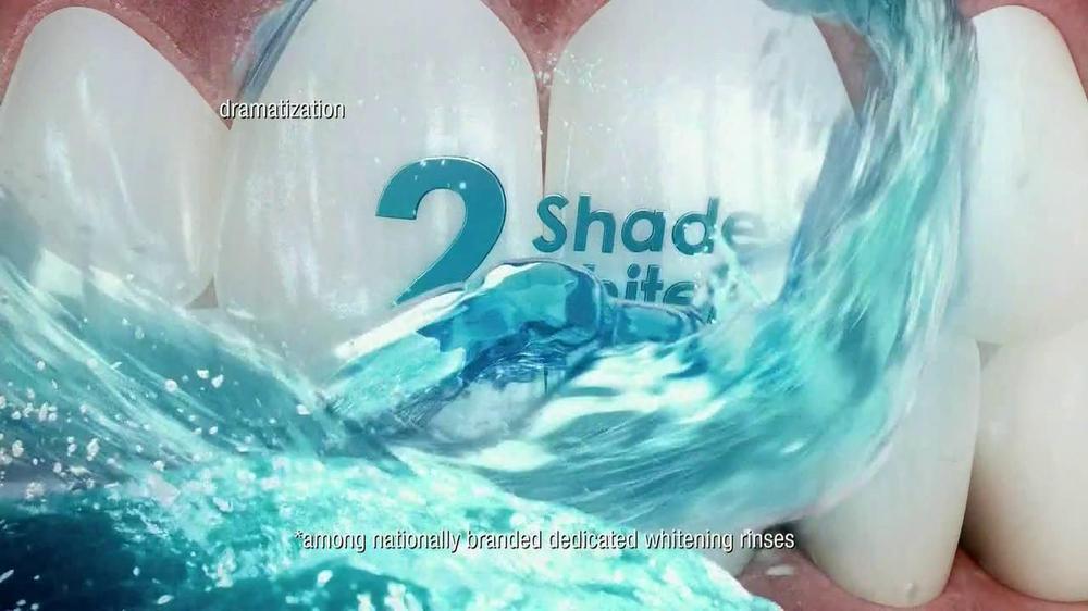 Listerine TV Commercial For Whitening Plus Restoring