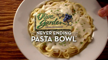 Olive Garden TV Spot For Never Ending Pasta Bowl