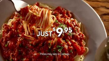 Olive Garden TV Spot For Never Ending Pasta Bowl - Thumbnail 8
