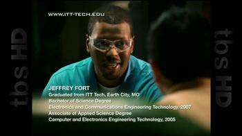 ITT Technical Institute TV Spot For Jeffrey Fort