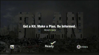 FEMA- Disaster Preparedness TV Spot For Earthquakes  - Thumbnail 10
