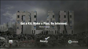 FEMA- Disaster Preparedness TV Spot For Earthquakes