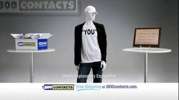 1-800 Contacts TV Spot, 'Plaque'